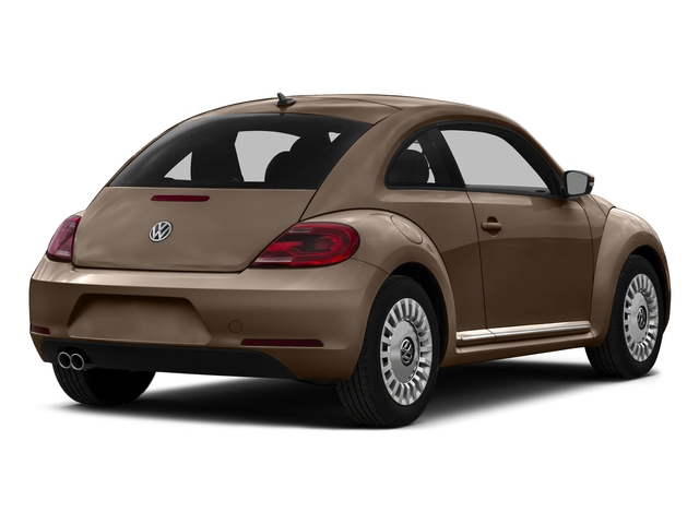 Toffee Brown Metallic 2016 Volkswagen Beetle Coupe Pictures Beetle Coupe 2D SE I4 Turbo photos rear view