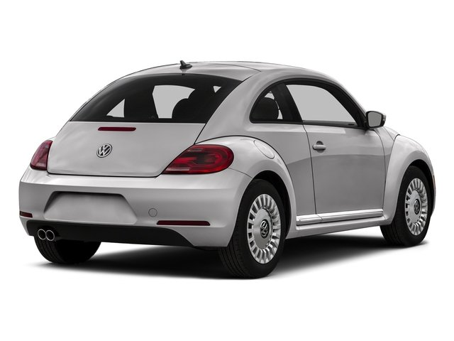 Reflex Silver Metallic 2016 Volkswagen Beetle Coupe Pictures Beetle Coupe 2D SE I4 Turbo photos rear view