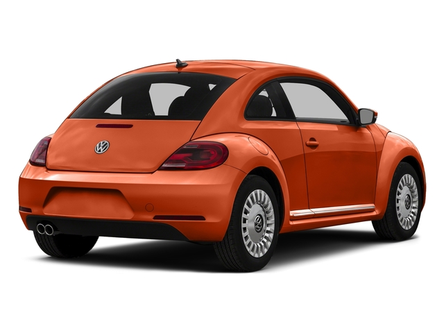 Habanero Orange Metallic 2016 Volkswagen Beetle Coupe Pictures Beetle Coupe 2D R-Line SEL I4 Turbo photos rear view