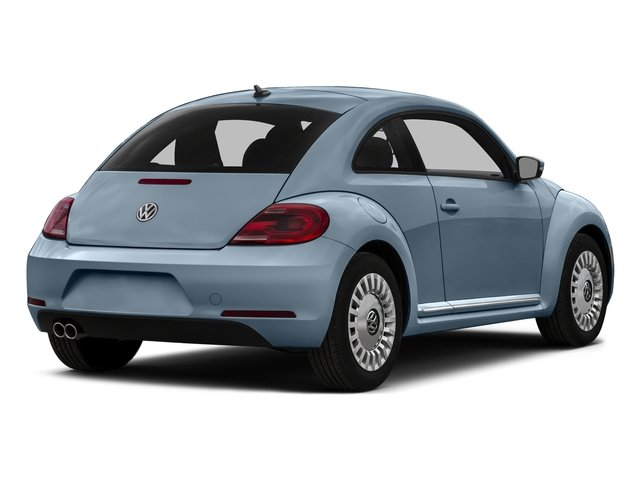 Denim Blue 2016 Volkswagen Beetle Coupe Pictures Beetle Coupe 2D R-Line SEL I4 Turbo photos rear view