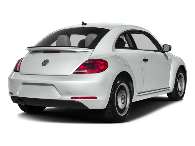 Pure White 2016 Volkswagen Beetle Coupe Pictures Beetle Coupe 2D Classic I4 Turbo photos rear view