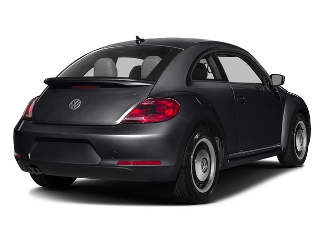 Deep Black Pearl 2016 Volkswagen Beetle Coupe Pictures Beetle Coupe 2D Classic I4 Turbo photos rear view