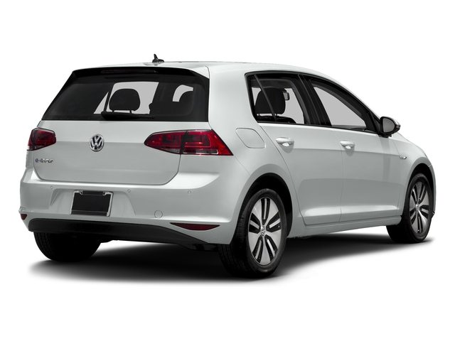 Pure White 2016 Volkswagen e-Golf Pictures e-Golf Hatchback 4D e-Golf SEL Electric photos rear view