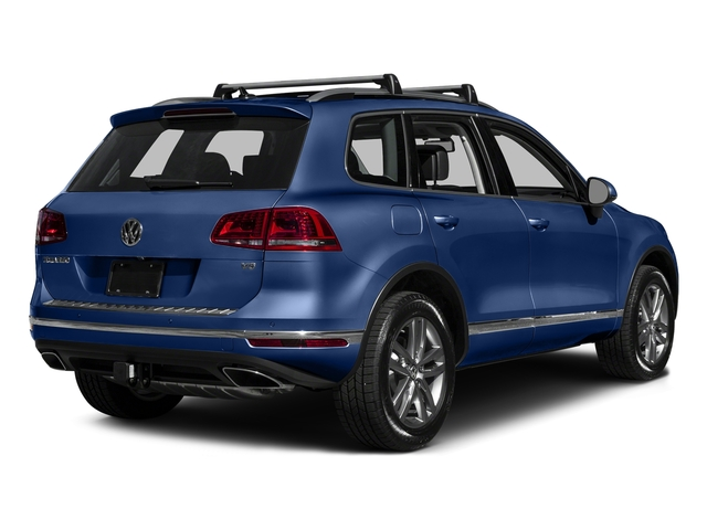 Reef Blue Metallic 2016 Volkswagen Touareg Pictures Touareg Utility 4D Executive AWD V6 photos rear view