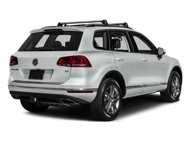 Pure White 2016 Volkswagen Touareg Pictures Touareg Utility 4D Executive AWD V6 photos rear view