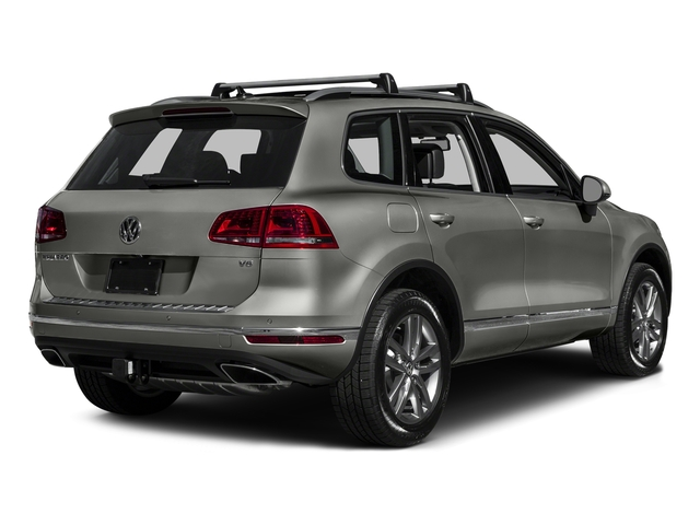 Canyon Gray Metallic 2016 Volkswagen Touareg Pictures Touareg Utility 4D Executive AWD V6 photos rear view