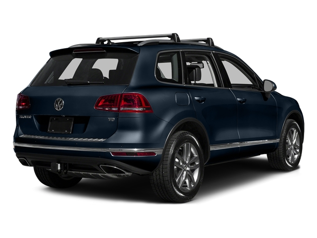 Moonlight Blue Pearl 2016 Volkswagen Touareg Pictures Touareg Utility 4D Sport Technology AWD V6 photos rear view