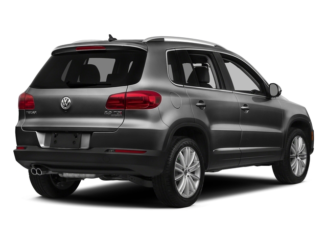 Panther Gray Metallic 2016 Volkswagen Tiguan Pictures Tiguan Utility 4D SEL AWD I4 Turbo photos rear view