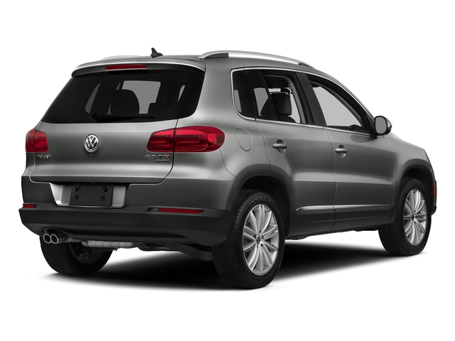 Pepper Gray Metallic 2016 Volkswagen Tiguan Pictures Tiguan Utility 4D SEL AWD I4 Turbo photos rear view
