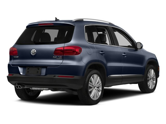 Night Blue Metallic 2016 Volkswagen Tiguan Pictures Tiguan Utility 4D SE 2WD I4 Turbo photos rear view