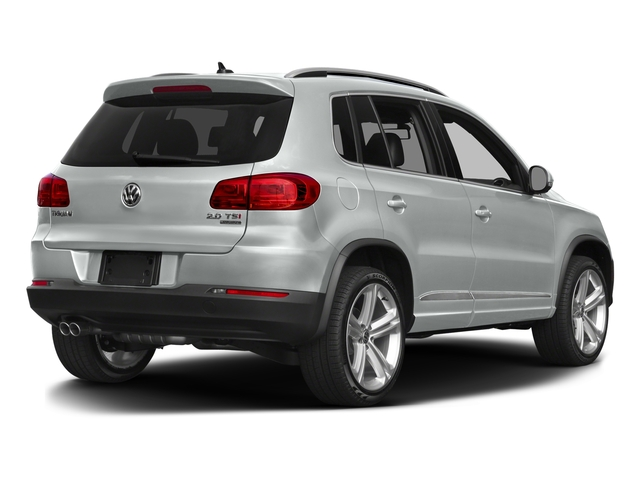 Pure White 2016 Volkswagen Tiguan Pictures Tiguan Utility 4D R-Line 2WD I4 Turbo photos rear view