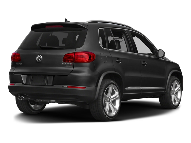 Panther Gray Metallic 2016 Volkswagen Tiguan Pictures Tiguan Utility 4D R-Line 2WD I4 Turbo photos rear view