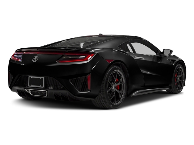Berlina Black 2017 Acura NSX Pictures NSX Coupe photos rear view