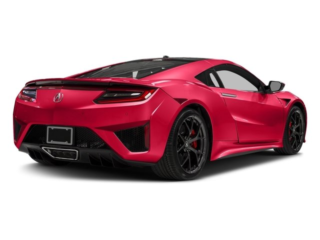Curva Red 2017 Acura NSX Pictures NSX Coupe photos rear view