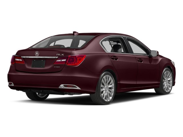 Pomegranate Pearl 2017 Acura RLX Pictures RLX Sedan 4D Technology V6 photos rear view