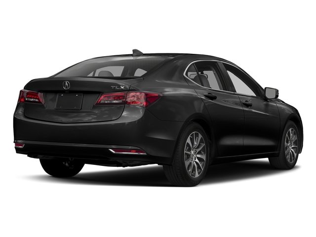 Crystal Black Pearl 2017 Acura TLX Pictures TLX Sedan 4D I4 photos rear view