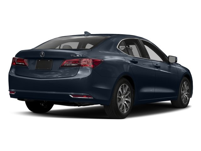 Fathom Blue Pearl 2017 Acura TLX Pictures TLX FWD photos rear view