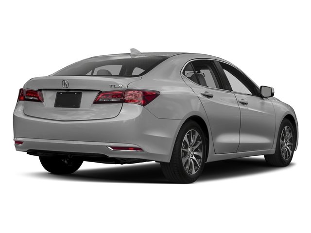 Lunar Silver Metallic 2017 Acura TLX Pictures TLX FWD photos rear view