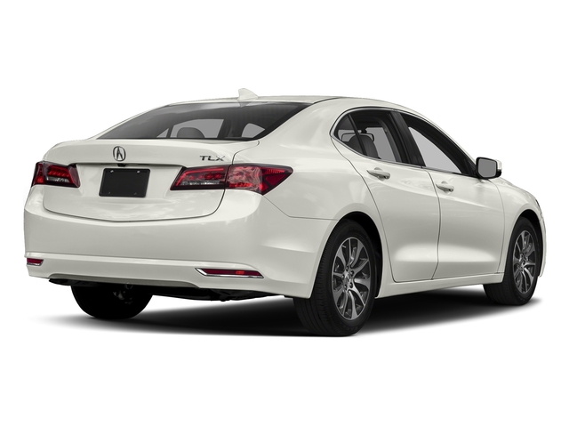 Bellanova White Pearl 2017 Acura TLX Pictures TLX FWD photos rear view