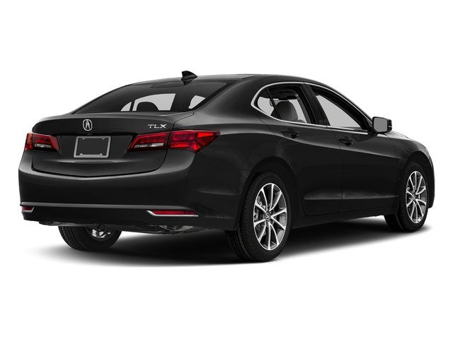 Crystal Black Pearl 2017 Acura TLX Pictures TLX FWD V6 w/Technology Pkg photos rear view