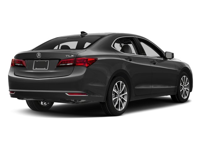Modern Steel Metallic 2017 Acura TLX Pictures TLX FWD V6 w/Technology Pkg photos rear view