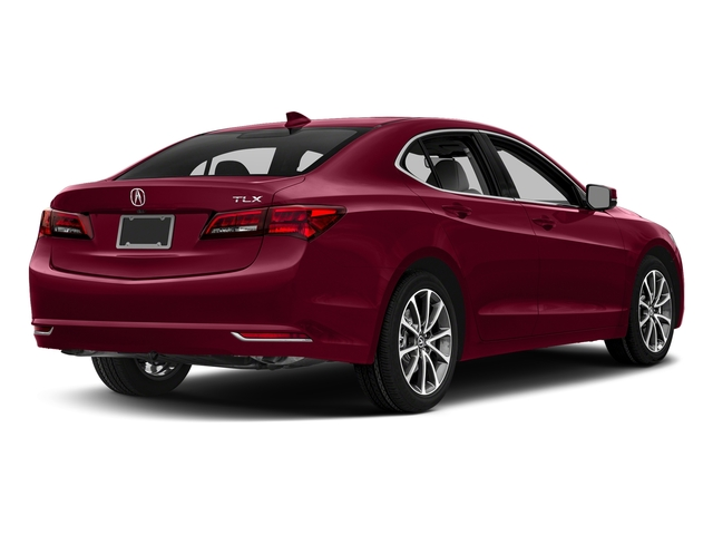 San Marino Red 2017 Acura TLX Pictures TLX FWD V6 w/Technology Pkg photos rear view