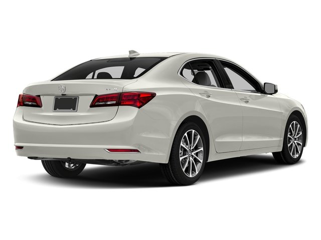 Bellanova White Pearl 2017 Acura TLX Pictures TLX FWD V6 w/Technology Pkg photos rear view