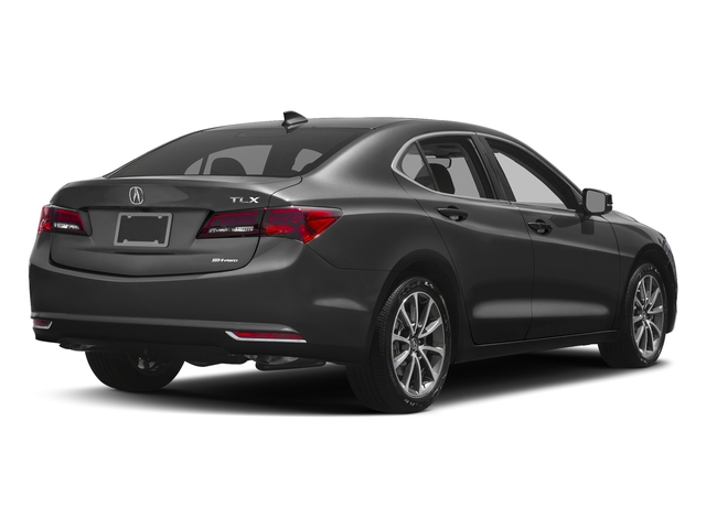 Modern Steel Metallic 2017 Acura TLX Pictures TLX SH-AWD V6 w/Technology Pkg photos rear view