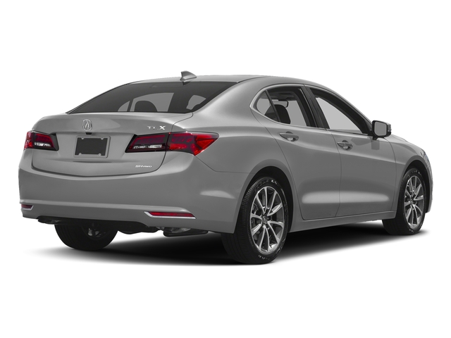 Lunar Silver Metallic 2017 Acura TLX Pictures TLX Sedan 4D Technology AWD V6 photos rear view