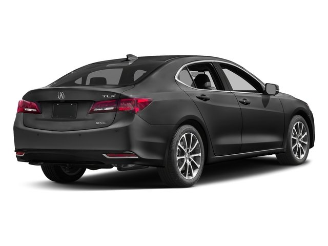Modern Steel Metallic 2017 Acura TLX Pictures TLX SH-AWD V6 w/Advance Pkg photos rear view
