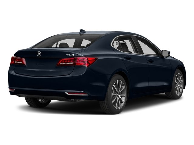 Fathom Blue Pearl 2017 Acura TLX Pictures TLX Sedan 4D V6 photos rear view