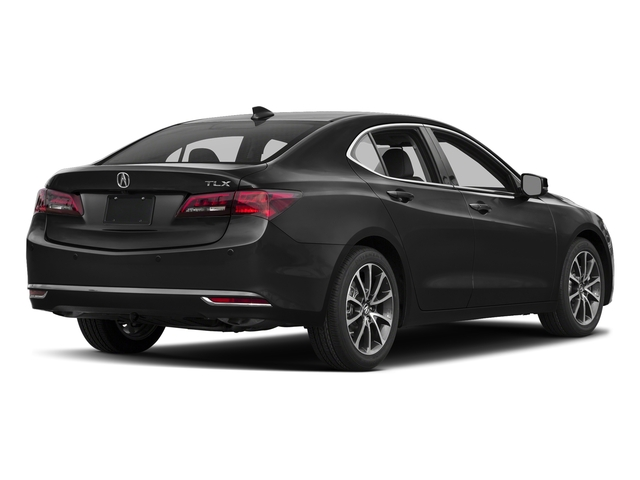 Crystal Black Pearl 2017 Acura TLX Pictures TLX Sedan 4D Advance V6 photos rear view