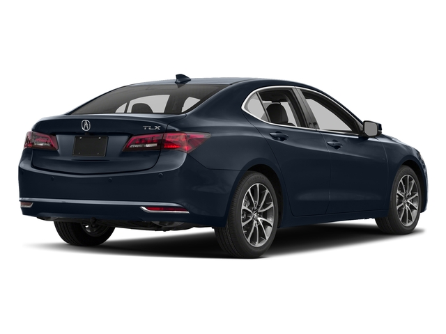 Fathom Blue Pearl 2017 Acura TLX Pictures TLX Sedan 4D Advance V6 photos rear view