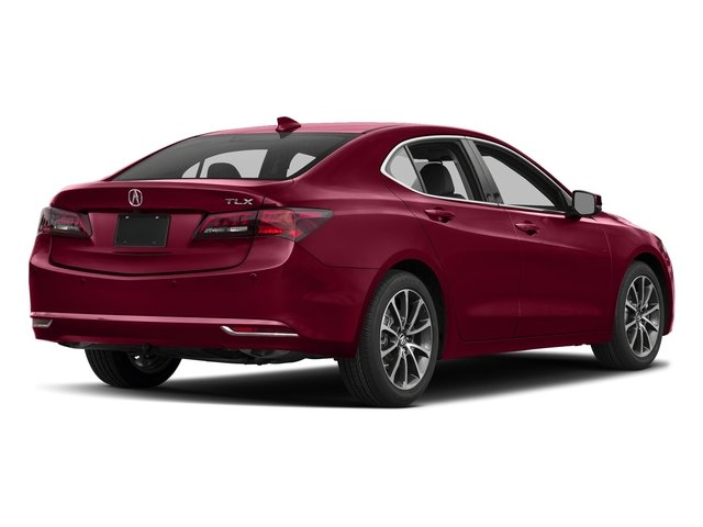 San Marino Red 2017 Acura TLX Pictures TLX FWD V6 w/Advance Pkg photos rear view