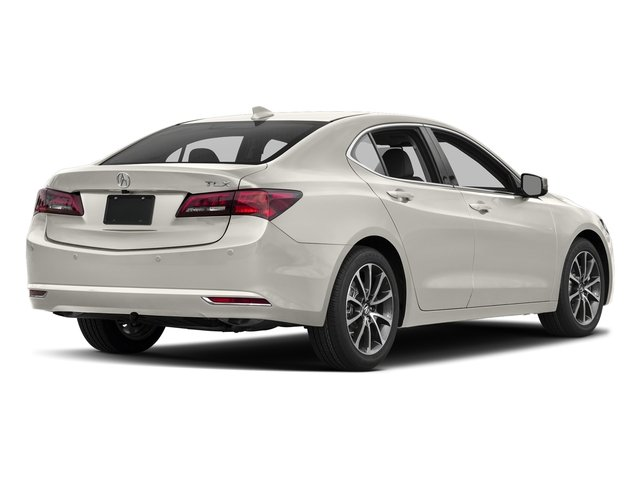 Bellanova White Pearl 2017 Acura TLX Pictures TLX Sedan 4D Advance V6 photos rear view