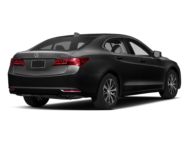 Crystal Black Pearl 2017 Acura TLX Pictures TLX Sedan 4D Technology I4 photos rear view