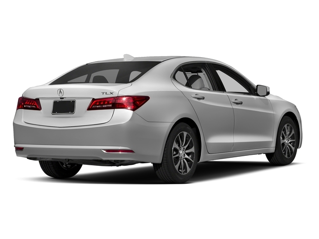Lunar Silver Metallic 2017 Acura TLX Pictures TLX Sedan 4D Technology I4 photos rear view