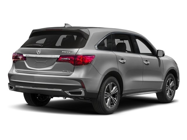 Lunar Silver Metallic 2017 Acura MDX Pictures MDX SH-AWD photos rear view