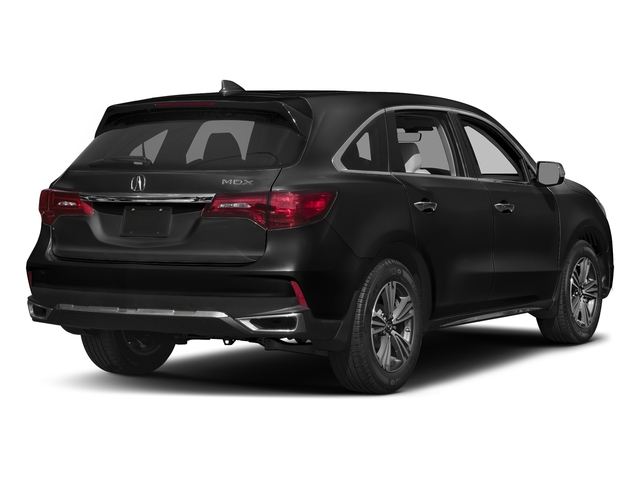 Crystal Black Pearl 2017 Acura MDX Pictures MDX Utility 4D 2WD V6 photos rear view
