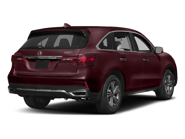 Dark Cherry Pearl 2017 Acura MDX Pictures MDX Utility 4D 2WD V6 photos rear view