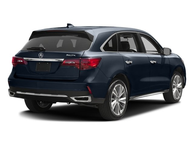 Fathom Blue Pearl 2017 Acura MDX Pictures MDX FWD w/Technology Pkg photos rear view