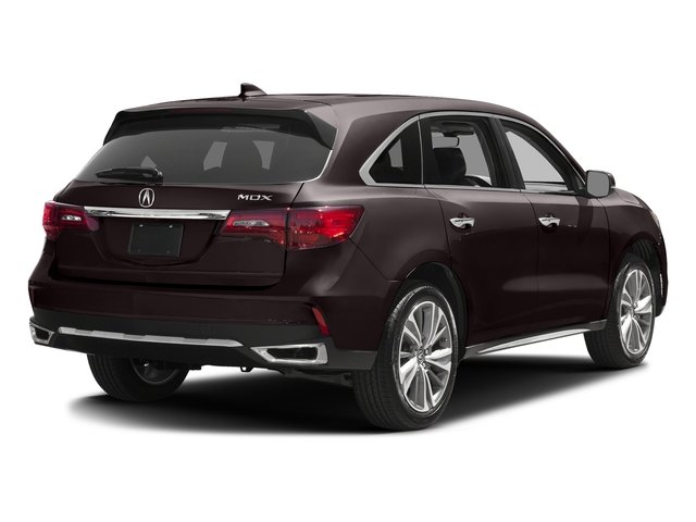 Black Copper Pearl 2017 Acura MDX Pictures MDX Utility 4D Technology 2WD V6 photos rear view