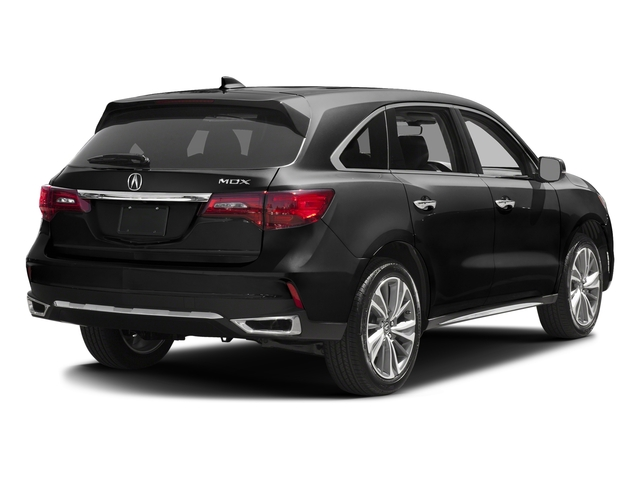 Crystal Black Pearl 2017 Acura MDX Pictures MDX Utility 4D Technology 2WD V6 photos rear view