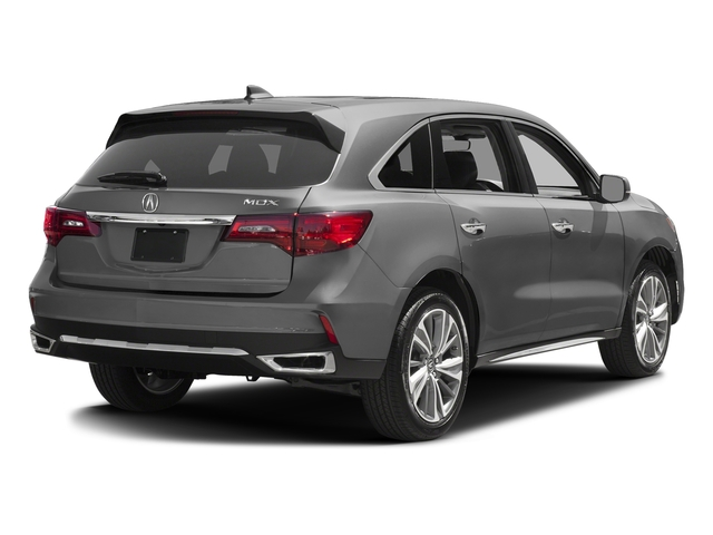 Lunar Silver Metallic 2017 Acura MDX Pictures MDX FWD w/Technology Pkg photos rear view