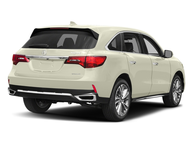White Diamond Pearl 2017 Acura MDX Pictures MDX Utility 4D Technology AWD V6 photos rear view