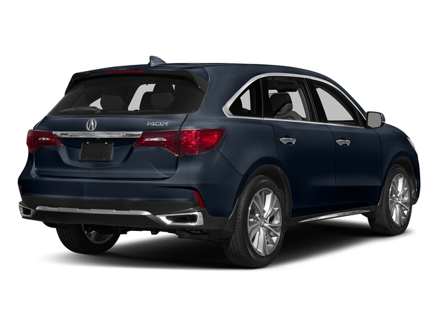 Fathom Blue Pearl 2017 Acura MDX Pictures MDX Utility 4D Technology DVD 2WD V6 photos rear view
