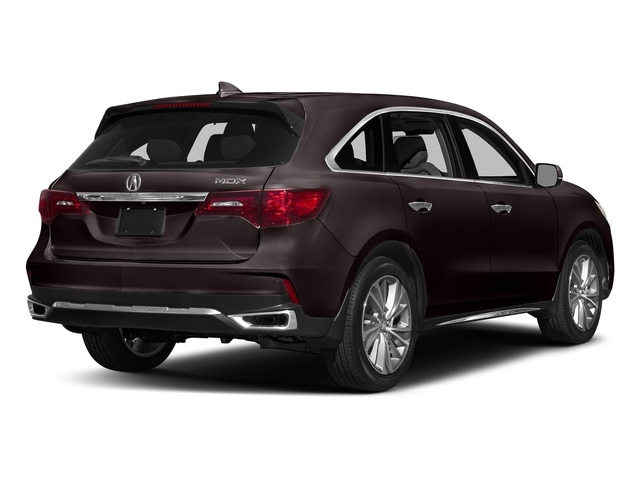 Black Copper Pearl 2017 Acura MDX Pictures MDX Utility 4D Technology DVD 2WD V6 photos rear view