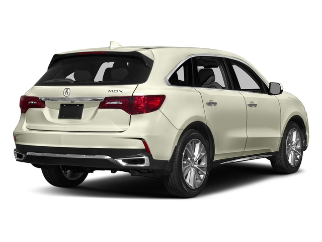 White Diamond Pearl 2017 Acura MDX Pictures MDX Utility 4D Technology DVD 2WD V6 photos rear view