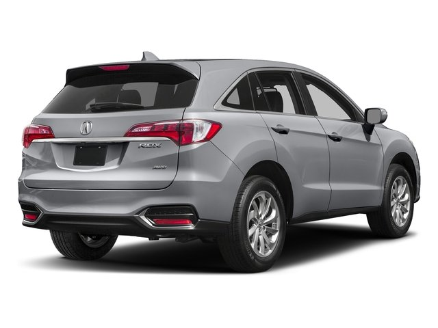 Lunar Silver Metallic 2017 Acura RDX Pictures RDX AWD photos rear view