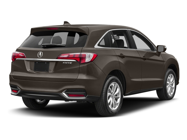 Kona Coffee Metallic 2017 Acura RDX Pictures RDX Utility 4D Technology 2WD V6 photos rear view